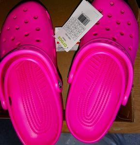 New Pink CROCS